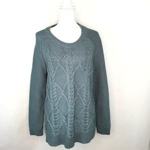 Soft Surroundings Women's Cable Knit Sweater